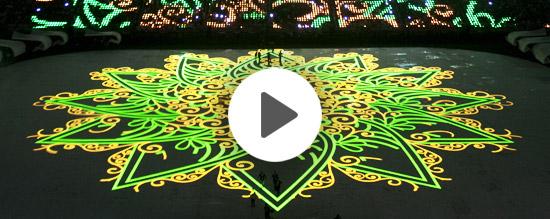 King Abdullah Sports City Stadium in Jeddah opening Ceremony Video