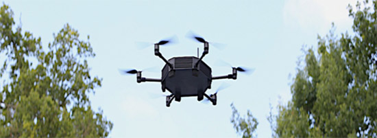 Neopter the drone in action