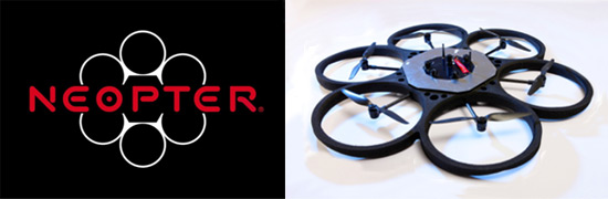 Neopter Flying Outdoor Drone logo