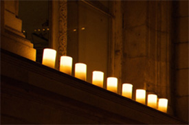 Boogie a secure flameless candle